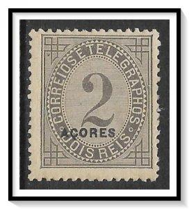 Azores #P3 Newspaper Stamp NG