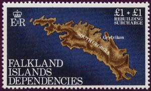Falkland Islands Dependencies - 1982 Semi-Postal #ILB1