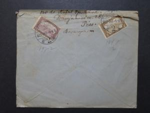 Hungary 1922 Cover to USA / Light Creasing / Sm Top Tear - Z8528