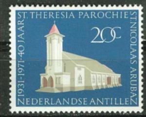 Netherlands Antilles # 327  Aruba Church    (1)  Mint NH