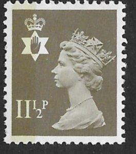 Great Britain-No.Ireland  #NIMH16 11½p QE II     (1) Mint NH