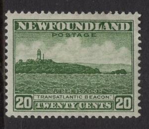 Newfoundland  #196   MH  1932   20c Cape Race