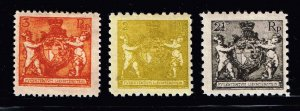 Liechtenstein Stamp 1921 Coat of Arms  MH/OG STAMPS