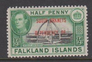 Falkland Islands Sc#4L1 MH