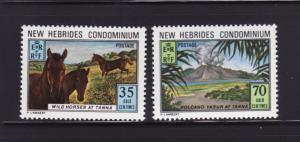 New Hebrides, British 177-178 Set MNH Various