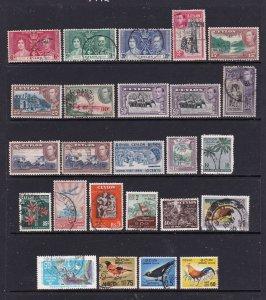 Ceylon small lot KGVI to QE2 era
