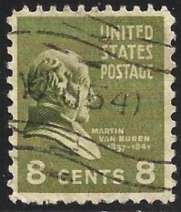United States 1938 Scott# 813 Used