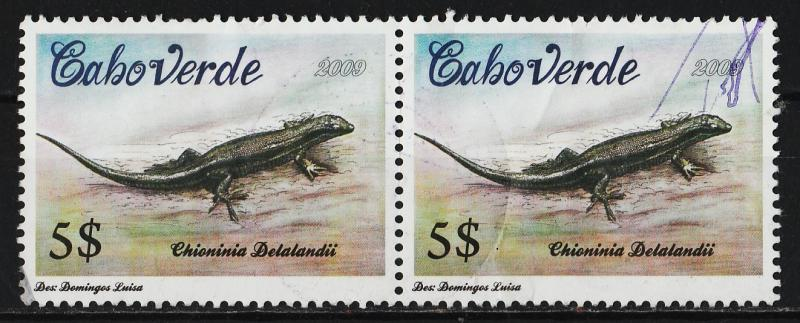 Cape Verde 2009 Flora and Fauna 5$ (1/6) Pair USED