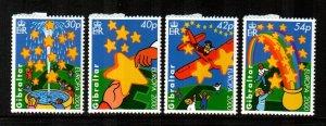 Gibraltar #837-840  MNH  Scott $5.50