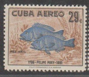 Cuba Scott #C190 Airmail Stamp - Mint Single