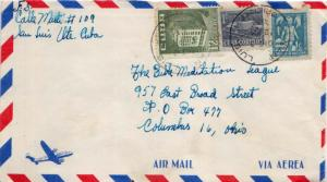Cuba 1c Communications Building and 1c Child and Protective Hands Postal Tax ...