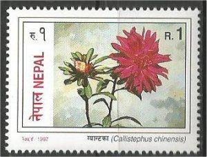 NEPAL, 1997, MNH 1r, Flowers Scott 621