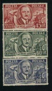 Poland MNH Sc 518-20