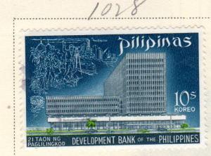 PHILIPPINES 1028 PHILIPPINE DEVELOPMENT BANK