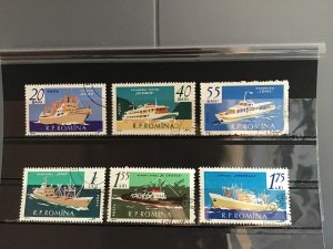 Romania 1961 Ships  Stamps R23336