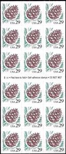 2491a Mint,OG,NH... Booklet Pane... SCV $11.00