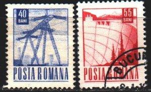 Romania. 1969. 2745-46. Standard, energy. USED.