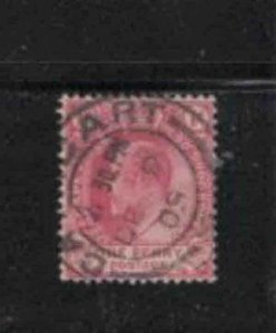CAPE OF GOOD HOPE #64  1902  1p  KING EDWARD VII  F-VF  USED   (A)