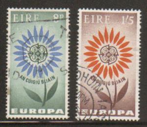 Ireland #196-7 Used EUROPA