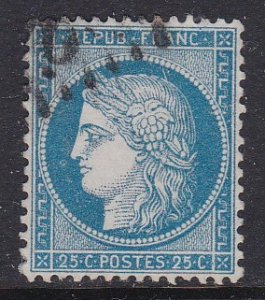 France #58 F-VF used Ceres