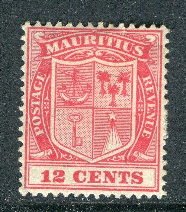 MAURITIUS; 1920s early issue Mint hinged 12c. value