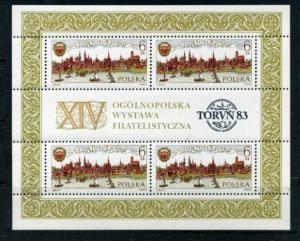 Poland #2581a Souvenir SheetMint NH VF