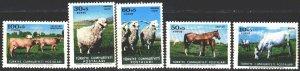 Turkey. 1964. 1919-23. Pets, horses. MNH.