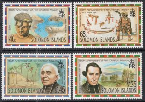 Solomon Islands 833-836 MNH VF