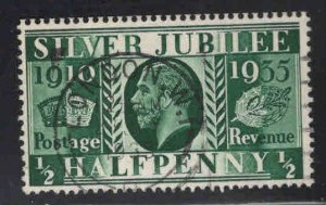 Great Britain Scott 226 Used 1935 Silver Jubilee stamp nice city cancel