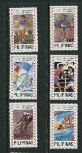 Philippines #1699-1704 MNH