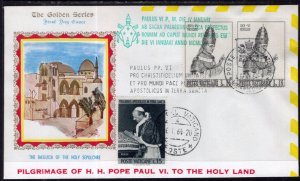 Vatican City Pope Paul VI Pilgrimage to the Holy Land 1964 Cover