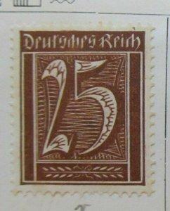 A8P46F46 Deutsches Reich Germany 1921-22 25pf fine mh* stamp