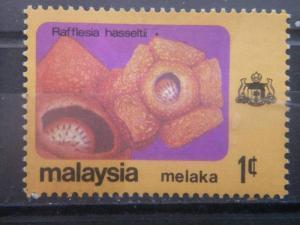 MALACCA, 1979, MNH 1c, Flowers, Scott 81