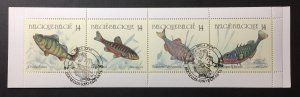 Belgium 1991 #1386a Unfolded booklet, Used/First day cancel