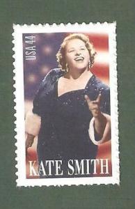 4463 Kate Smith US Single Mint/nh (Free Shipping)