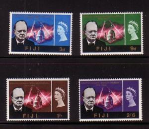 Fiji Sc 215-8 1965Churchill stamp set mint
