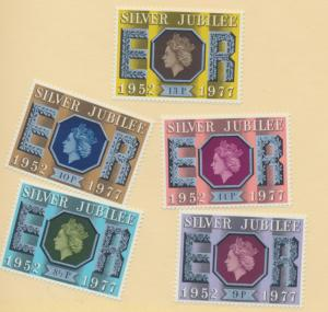 Great Britain Scott #716 To 719, Fire Prevention Act Issue From 1973 - Free U...