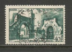 Tunisia  #284  Used  (1956)