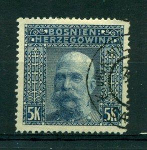 Bosnia & Herzegovina 1906 #45 U SCV(2020)=$9.00