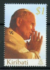 Kiribati Pope John Paul II Stamps 2005 MNH Memoriam Popes Famous People 1v Set