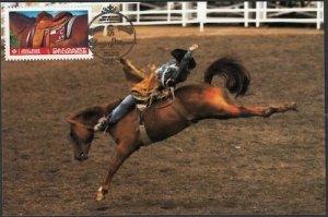 CANADA #2547 CALGARY STAMPEDE MAXIMUM CARD #5
