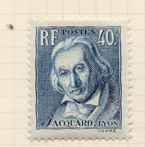France 1934 Lyon Issue Fine Mint Hinged 40c. 300229