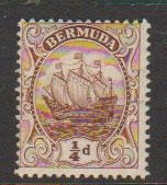 Bermuda SG 44  perf 14 Mint Hinged see description details