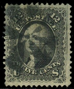 U.S. 1867 GRILLED ISSUES 97  Used (ID # 75604)
