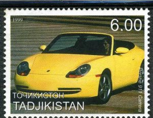 Tajikistan 1999 PORSCHE 911 CARRERA 1 value Perforated Mint (NH)