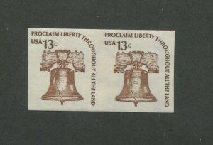 United States Postage Stamp #1618b MNH VF Imperf Pair