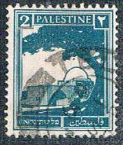 Palestine 63 Used Rachels Tomb (BP375)