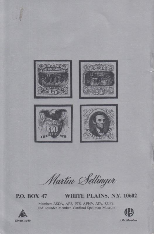 Inverted Center Stamps of the World Catalog, by Martin Sellinger, NEW