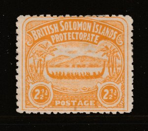 Solomon Island a MH 2.5d from the 1907 set