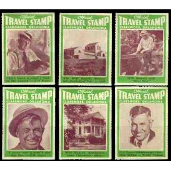 US - Will Rogers Poster Stamps